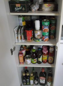 My very neat pantry