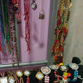This is my bead collection, or at least some of it. I used to blog about it