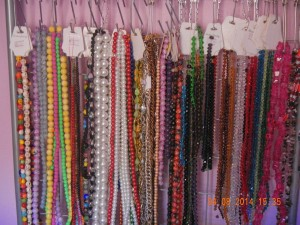 More of my bead collection. I should go back to this blog!