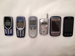 Where are your old cell phones?