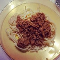 Another version of bolognaise
