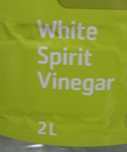 Cheap white vinegar