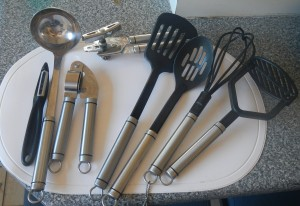 I like kitchen stuff!