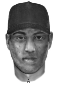 Identikit of abduction suspect, released by SAPS