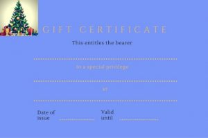 Download your free printable gift certificate.