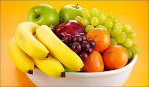 Easily accessible fresh fruit will make your family more likely to choose this healthy snack.