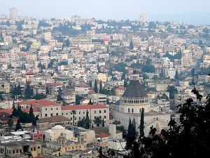 The city of Nazareth Isreal