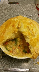 very easy chicken pie