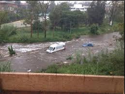Roads under water
