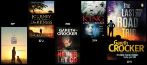 Gareth Crocker books so far!