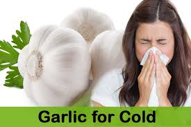 Garlic helps prevent and reduce the duration of colds and flu
