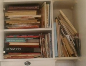 I may have too many cookbooks!