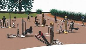 You have no excuse, even our city parks are being upgraded with gym equipment