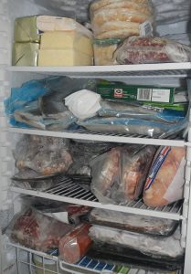 Cleaning out your freezer will save you money!