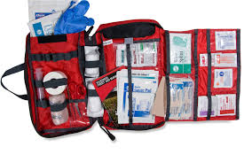 a good first aid kit is essential