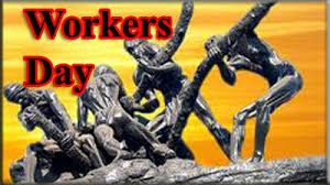Statue depicting laborers