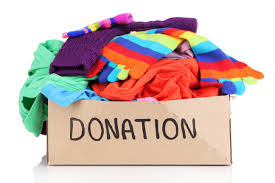 Make someone's day, donate old clothing to charity