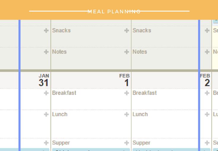 Tech Meal Plan