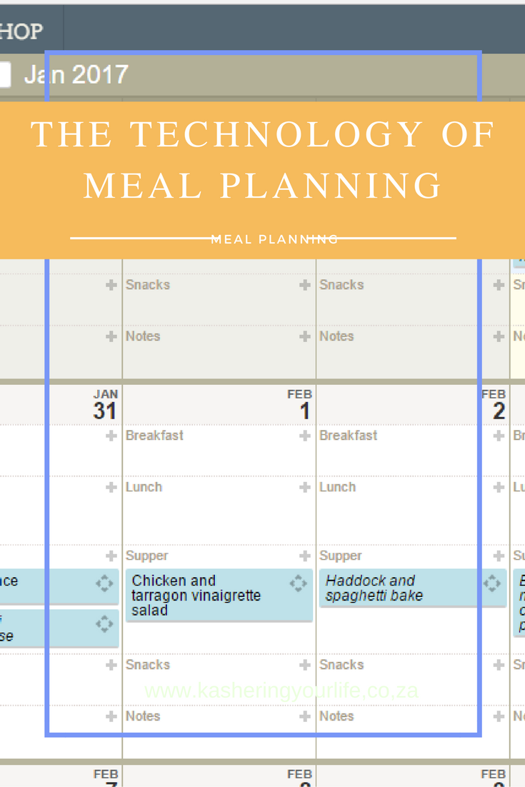 Tech Meal Plan