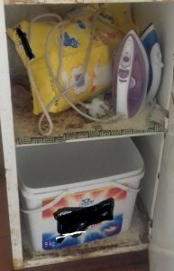 How do you do washing without a laundry room? 1