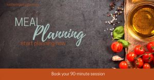 90 minute meal planning