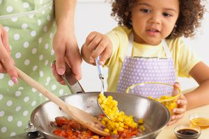 Children belong in the kitchen 1