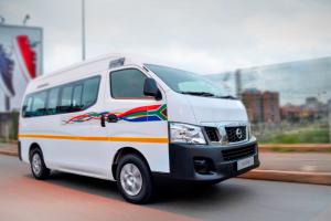 SA mini bus taxi